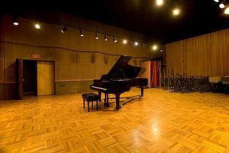 Fantasy Studios - Present-day live room of Studio A
