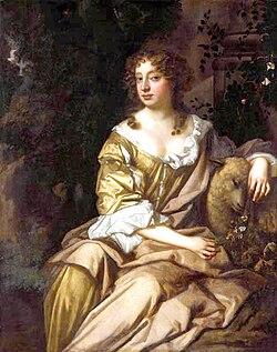 Nell gwyn peter lely c 1675