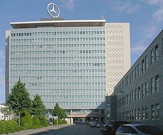 Daimler AG - Daimler AG central headquarters in Daimler complex in Stuttgart