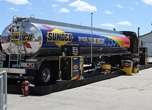 Sunoco - Sunoco fuel supply truck at 2010 NASCAR race