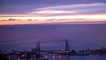 Sunrise over Aerial Lift Bridge.jpg