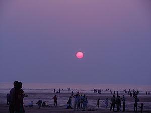 Aksa Beach - Sunset at the Aksa Beach