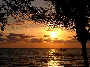 Sunset Koh Chang, Thailand