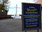Superman The Escape refurbishment sign.jpg