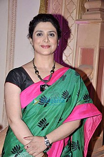Supriya Pilgaonkar Indian Hindi and Marathi actress
