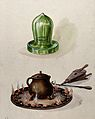 Surgery; a cupping glass (above) and a pot on top of a fire, Wellcome V0025749.jpg