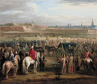 Siege of Cambrai (1677) - The Surrender of Cambrai