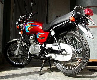 Suzuki GS series - Suzuki GS 150 Motorcycle in Pakistan (aka Suzuki Mola 150 in Philippines)