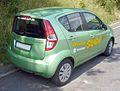 Suzuki Splash grün Heck.JPG
