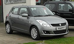 Suzuki Swift Fünftürer (2010–2013)