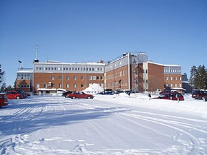 Swedish Institute of Space Physics - Swedish Institute of Space Physics and  The Kiruna Space Campus