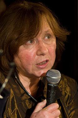 Svetlana Aleksijevitj i Berlin 2011