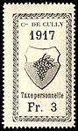 Switzerland Cully 1917 revenue 3Fr - 19.jpg