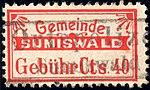 Switzerland Sumiswald 1905 revenue 40c 10.jpg