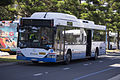 Sydney Buses (mo 1228) Custom Coaches 'Citaro' bodied Mercedes-Benz O405NH (CNG) on Olympic Boulevard at Sydney Olympic Park.jpg