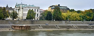 Szeged - Image: Szeged, Tisza river bank, with Mora Museum, and the Theatre building