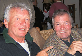English: Jean Claude Szurdak and Jacques Pepin...