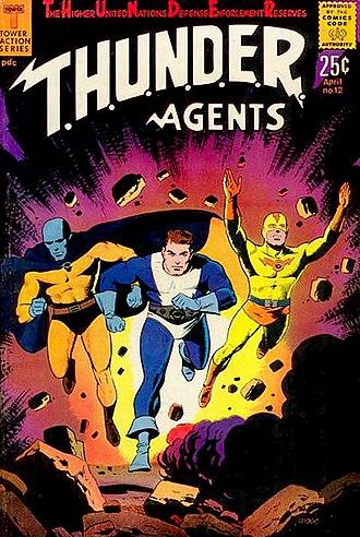 T.H.U.N.D.E.R. Agents - Image: T.H.U.N.D.E.R. Agents 12