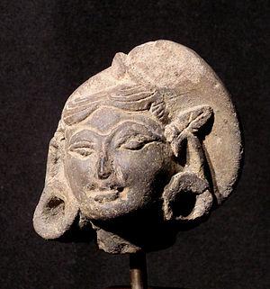 Majapahit Terracotta - Majapahit terracotta head of a woman