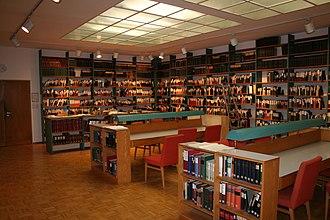 Thesaurus Linguae Latinae - Library of the Thesaurus Linguae Latinae