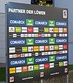 TSV 1860 München Sponsorentafel 2010.JPG