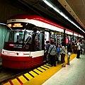 TTC LRV 4403 at Spadina station 15096311372.jpg