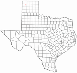 Location of Hartley, Texas