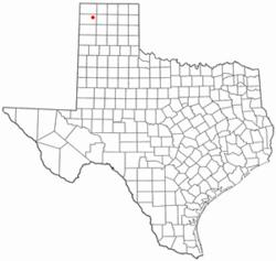 Location of Hartley, Texas