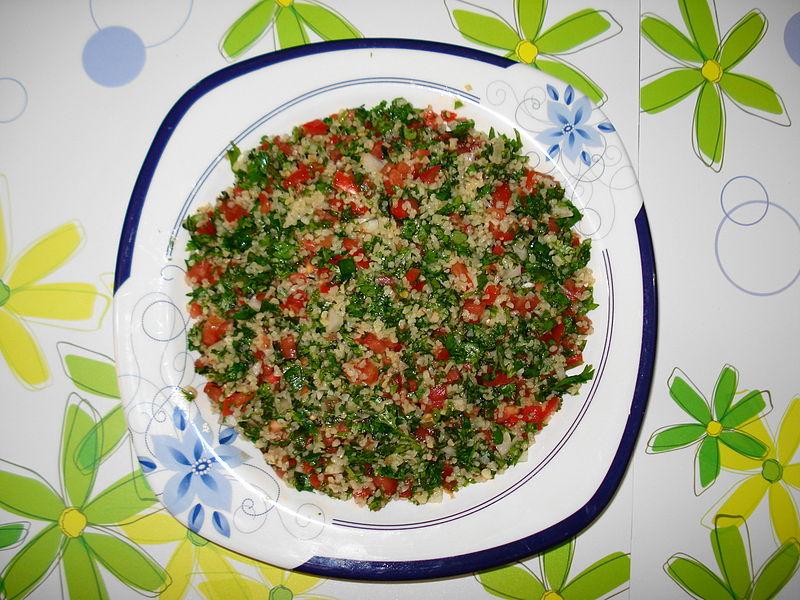 Tabouleh. From Top 10 Things to Eat in Jordan
