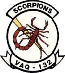 Tactical Electronic Warfare Squadron 132 (US Navy) inisgnia c1992.png