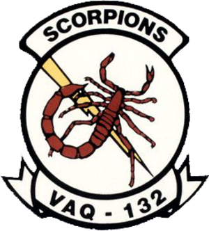 VAQ-132 - Image: Tactical Electronic Warfare Squadron 132 (US Navy) inisgnia c 1992