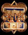 Taddeo gaddi, formelle dell'armadio della sacrestia di santa croce, pentecoste a berlino.jpg