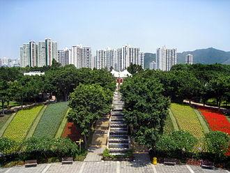Tai Po - Tai Po Waterfront Park and Fu Shin Estate