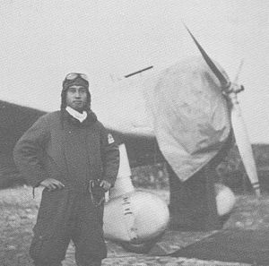 Takahide Aioi - Aioi at Hankow, China in 1938 while with the 12th Air Group
