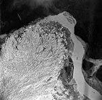 Taku Glaciers, terminus of tidewater glacier, September 1, 1970 (GLACIERS 6184).jpg