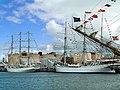 Tall ships in Sandon Half-Tide Dock - geograph.org.uk - 906019.jpg