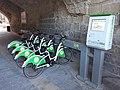 Tallinja Bike in Upper Barrakka Lift tunnel.jpg