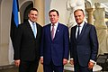 Tallinn Digital Summit. Welcome dinner hosted by HE Donald Tusk. Handshake (37377750731).jpg