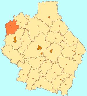 Pervomaysky District, Tambov Oblast - Image: Tambov oblast Pervomaisky