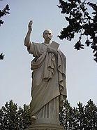 Taras Shevchenko monument in Rome