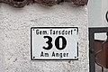 Tarsdorf - Am Anger - Motiv - 2017 10 07 - Hausnummernschild.jpg