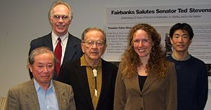 Ted Stevens at International Arctic Research Center.jpg