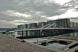 Teglværksbroen - Image: Teglværksbroen
