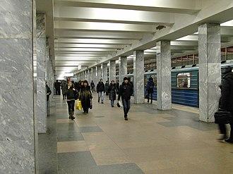 Tekstilshchiki (Tagansko–Krasnopresnenskaya line) - Image: Tekstilshiky (Текстильщики) (5392555067)