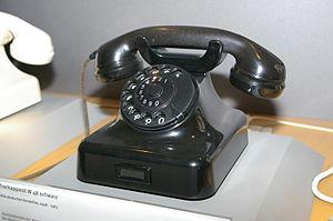 W48 (telephone) - Telephone W48 of the Deutsche Bundespost
