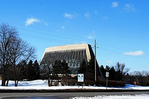 Temple Beth El (Detroit) - Current Temple Beth El, opened in 1973