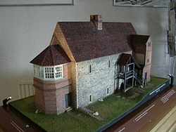 Model of Temple Manor