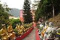 Ten Thousand Buddhas Monastery, Tai Sui corridor (Hong Kong).jpg