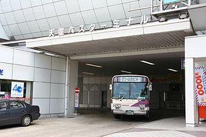 Tendō Station - Image: Tendō Bus Terminal