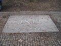 Teplice, pomník setkání Beethovena a Goetheho.jpg